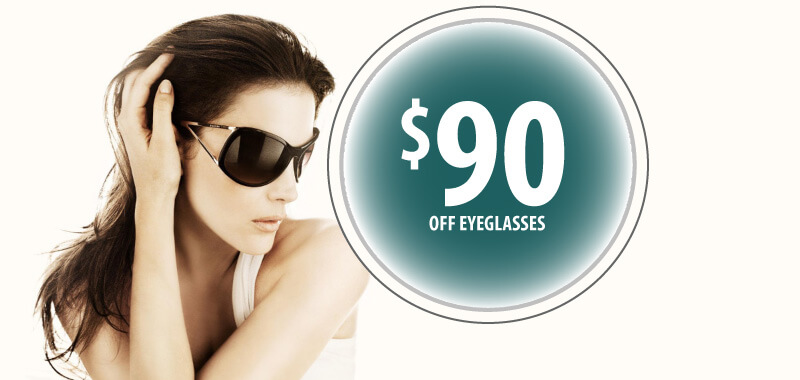 $90 Off Eyeglasses