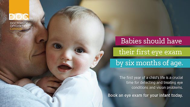 Babies Should Have Their First Eye Exam By 6 Months